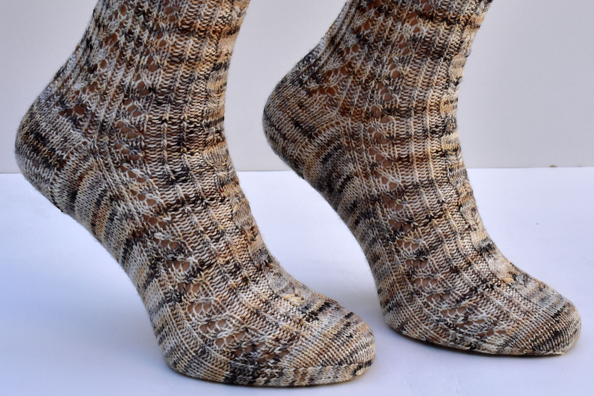 Witches' Sabbath sock pattern by Dots Dabbles