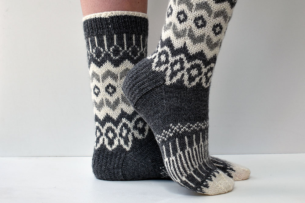 How to take great pictures of your knitted socks (part 1)