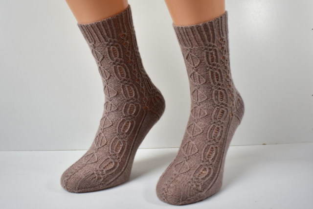 Lady Patience sock pattern by Dots Dabbles