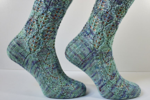 Treeship sock pattern by Dots Dabbles