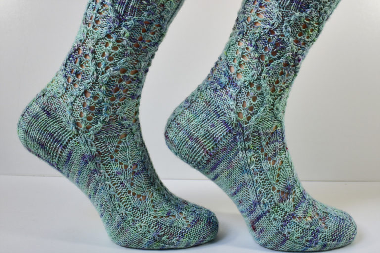 Treeship sock pattern by Dots Dabbles