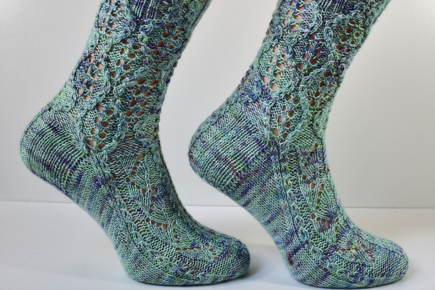 Treeship socks by Dots Dabbles