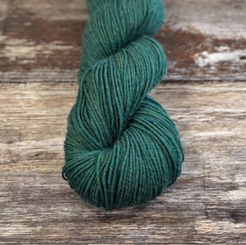 Socks Yeah in Malachite, a dark green