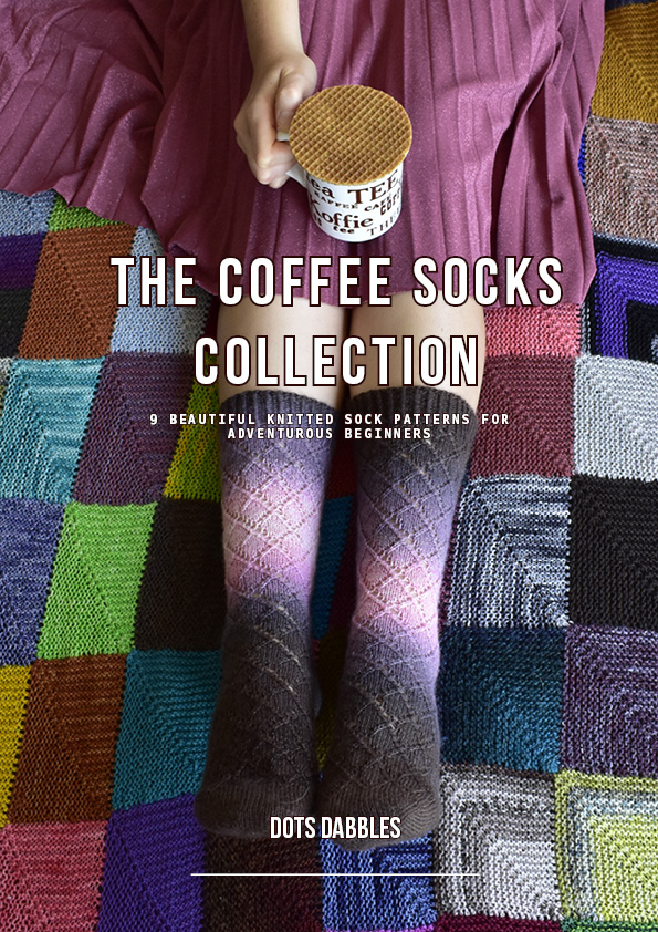 Cover image of The Coffee Socks Collection by Dots Dabbles