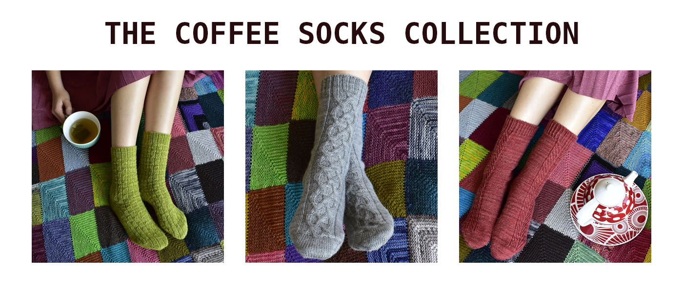 The Coffee Socks Collection by Dots Dabbles