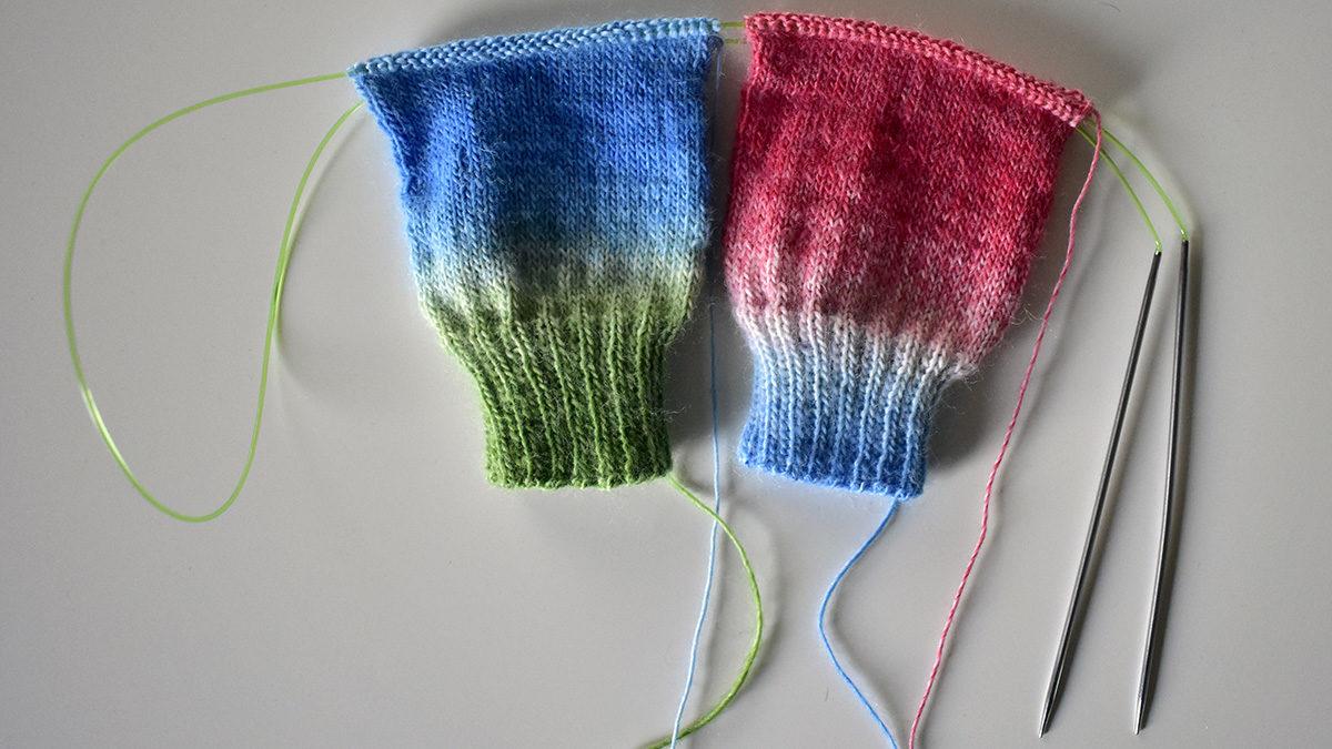 Story of a beginner sock knitter